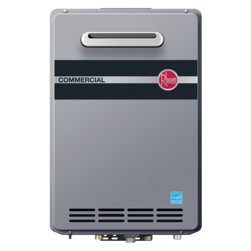 Rheem RTGH-CM95XLP Outdoor Propane Condensing Tankless Water Heater w/ Built-In Manifold
