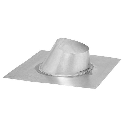 Rheem RTG20151L 6/12 to 12/12 Pitched Roof Flashing for 3/5 Inch Concentric Vent