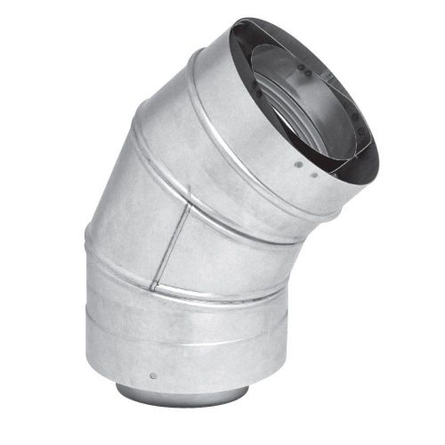 Rheem RTG20151B  45 Degree Elbow for 3/5 Inch Concentric Vent