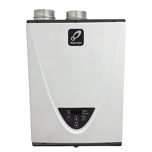 Takagi T-H3-DV-N Indoor Tankless High Efficiency Condensing  Water Heater - Natural Gas