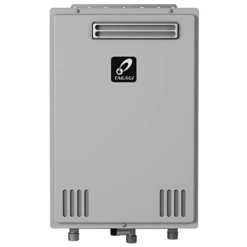 Takagi TK-310U-E Tankless Water Heater 190,000 BTU Natural Gas/Propane Outdoor Ultra Low NOx