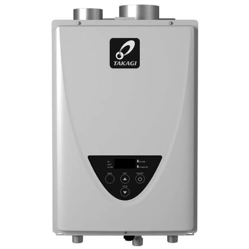 Takagi TK-110U-I Tankless Water Heater 140,000 BTU Natural Gas / Propane Indoor Ultra Low NOx