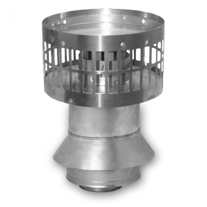 Rheem RTG20151P Vertical Termination includes Rain Cap for 3/5 Inch Concentric Vent