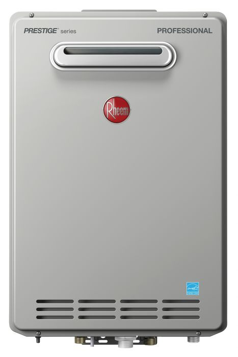 Rheem RTGH-95XLN-2 Natural Gas Condensing Tankless Water Heater (Outdoor)