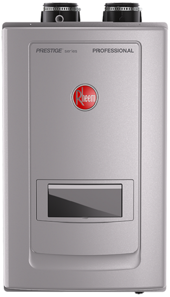 Rheem RTGH-RH10DVLN Prestige Series NATURAL GAS Condensing Tankless Water Heater w/Built-In Recirculation