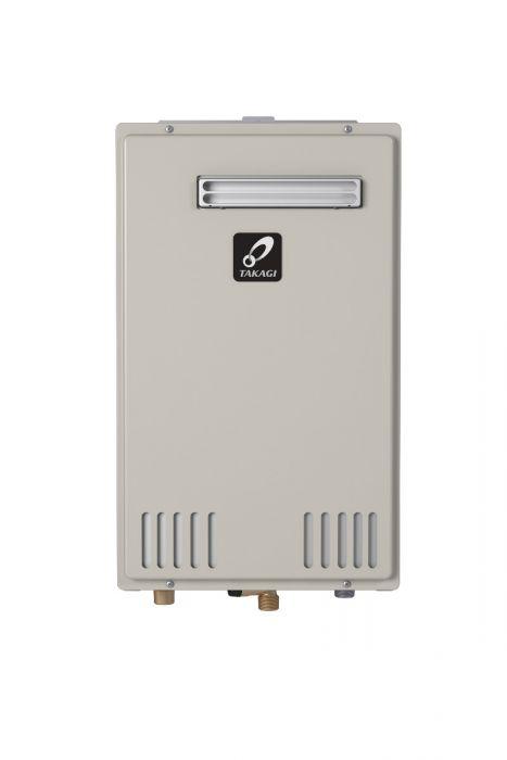 Takagi T-H3M-OS-P Outdoor Condensing Ultra-Low NOx Tankless Water Heater (Propane)