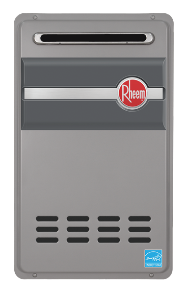 rheem rtg-95xn outdoor natural gas tankless water heater
