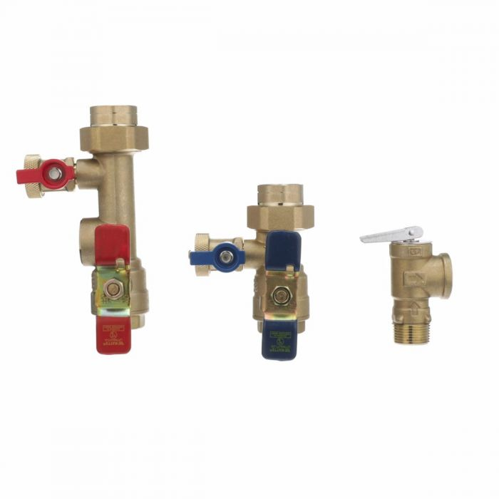 Watts LFTWH-FT-HCN-RV Tankless Water Heater Service Valve Kit (3/4