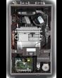 Rheem RCBH199DVLN Indoor Natural Gas Wall Hung Combi Tankless Water Heater Boiler