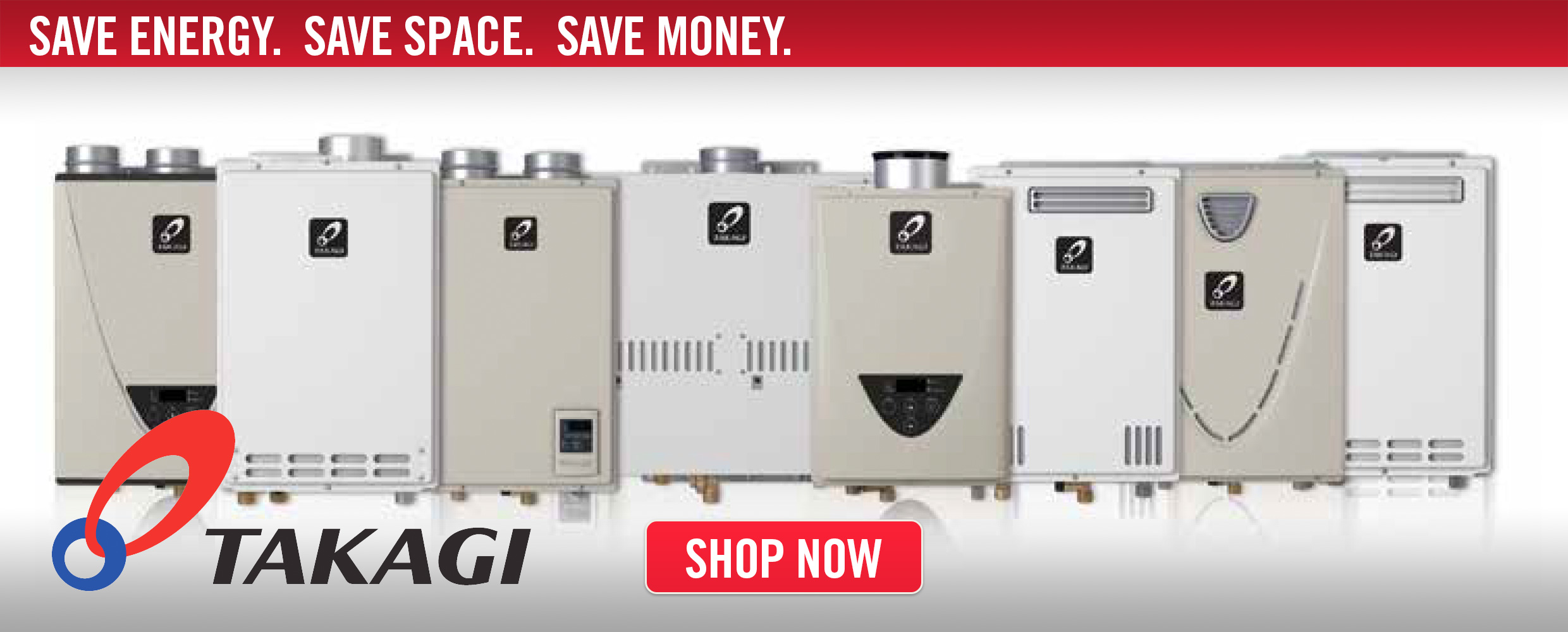 Takagi Tankless Water Heaters -